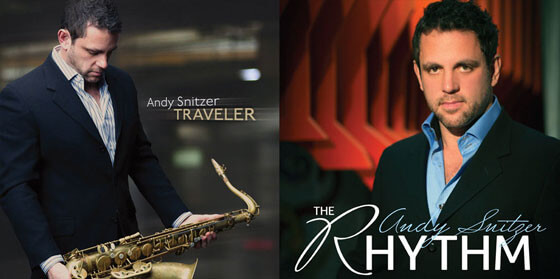 Andy Snitzer's saxophone albums