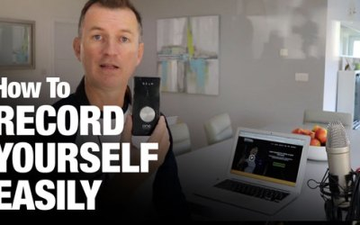 How to record yourself easily!