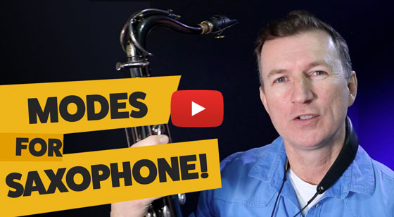 Jazz modes – how to use them on saxophone!