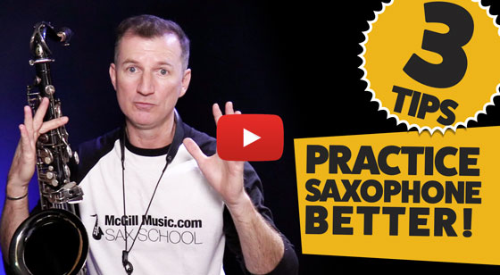 How to practice saxophone better