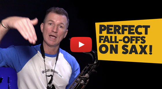 Perfect Fall-Offs on sax in 5 steps