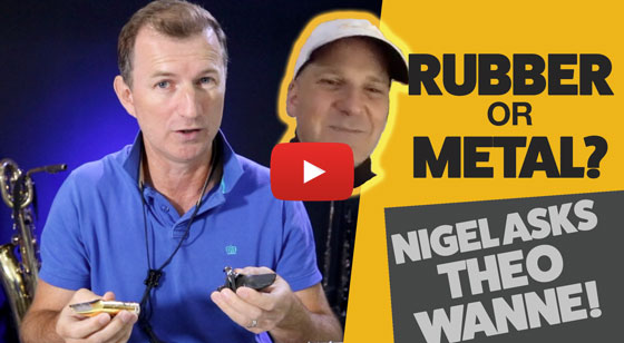 Rubber vs Metal – Nigel asks Theo Wanne!