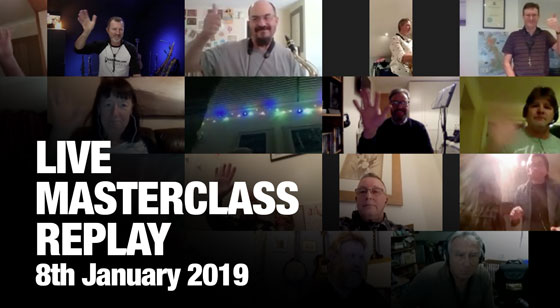 January Masterclass Replay