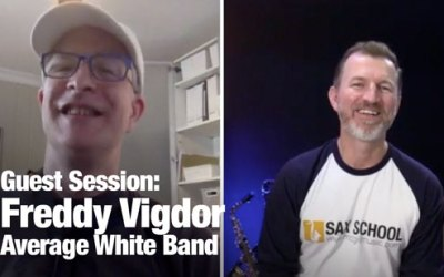 Fred Vigdor from Average White Band
