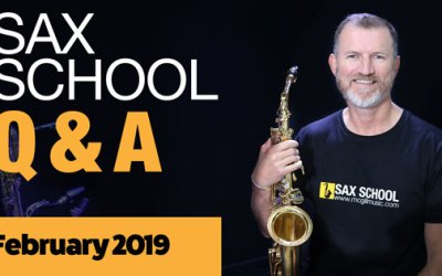Sax School February Q&A Session