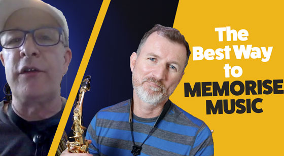 How to Memorise Music for saxophone players