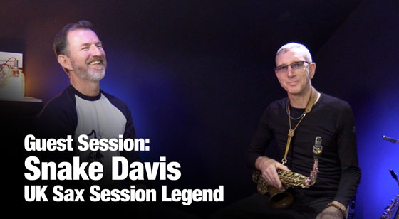 Snake Davis – How to create emotion in your saxophone playing