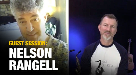 Nelson Rangell on playing commercial saxophone!