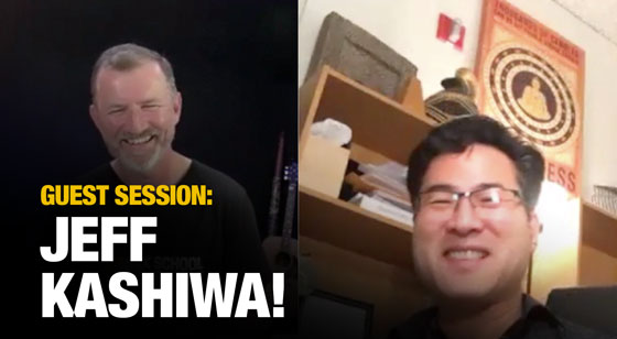 Guest Session Interview with Jeff Kashiwa