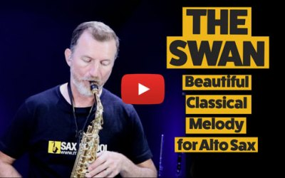 The Swan – Learn this classical melody on alto sax