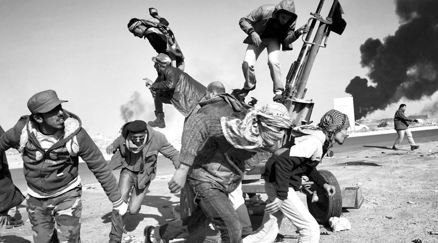 Rebels in Ras Lanuf, Libya, 11 March (Yuri Kozyrev, Russia, Noor Images for Time)