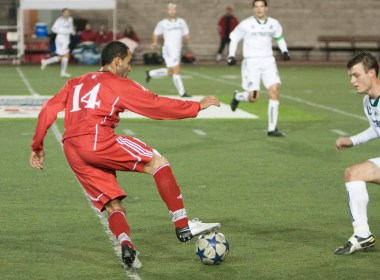 The Redmen dominated ball possession, but couldn't fill the scoresheet. (Mike King / McGill Tribune)