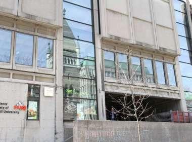 SSMU Building at McGill