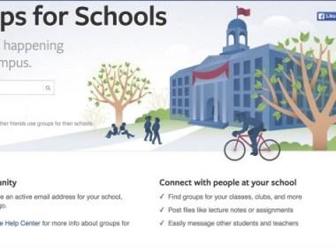Facebook Groups for Schools