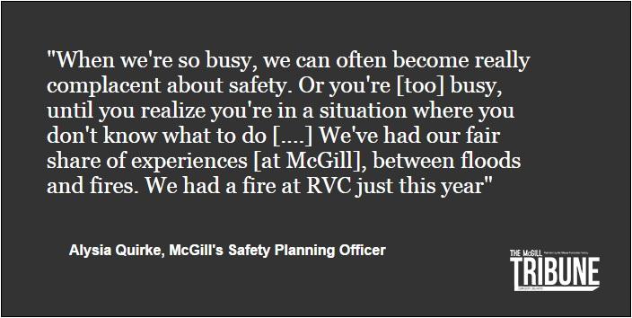 McGill Safety Week