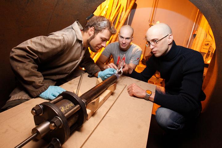 Demilitarize McGill Shockwave Physics Group