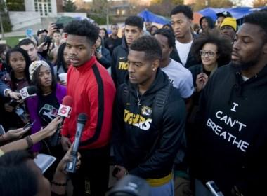 Missouri football student activism