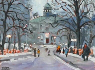 McGill in winter