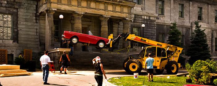 Movies filmed at McGill