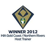 Winner 2012 HIA-CSR Gold Coast Northern Rivers Housing Awards Host Trainer