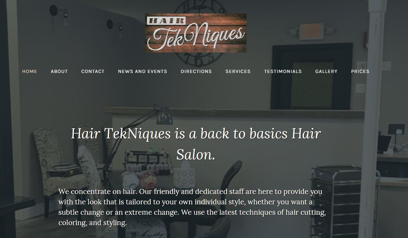 You are currently viewing Hair Tekniques Salon