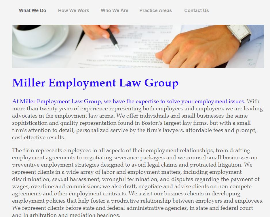 Miller Employment Law Group