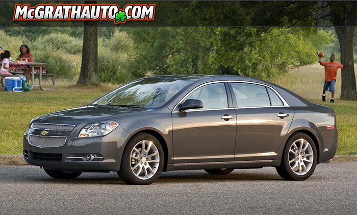 Chevy Malibu Packed With Amenities for Cedar Rapids Drivers