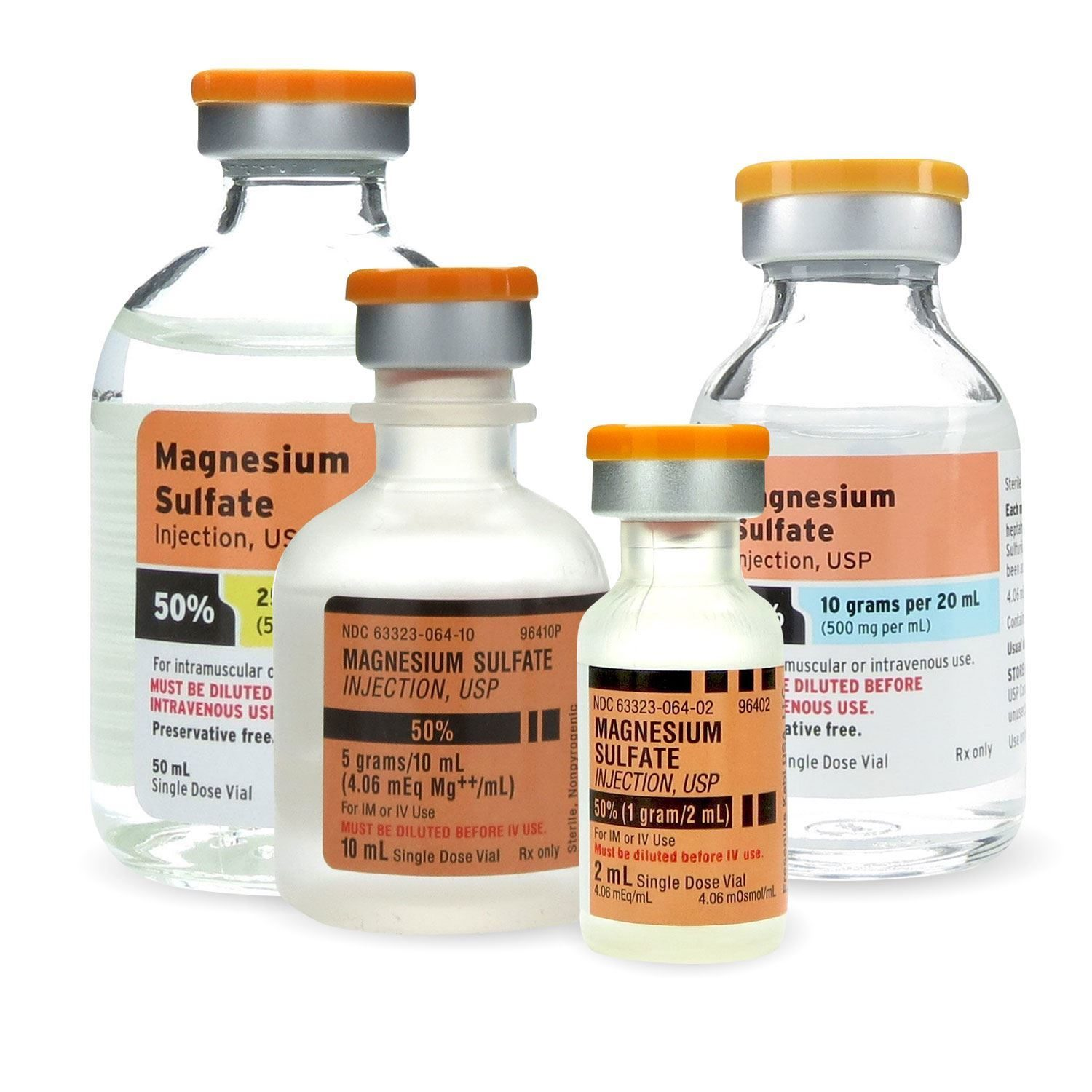 Magnesium Sulfate 50% 500mg/mL SDV   McGuff Medical Products