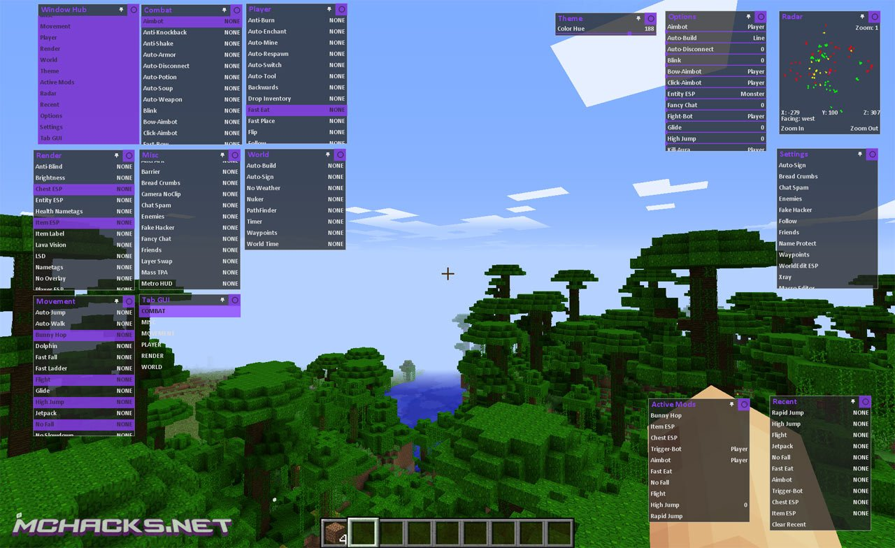 Fall Mac Wallpaper Metro Hacked Client W Optifine Download For Minecraft 1 8 X