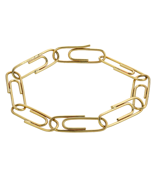 14k yellow gold paper