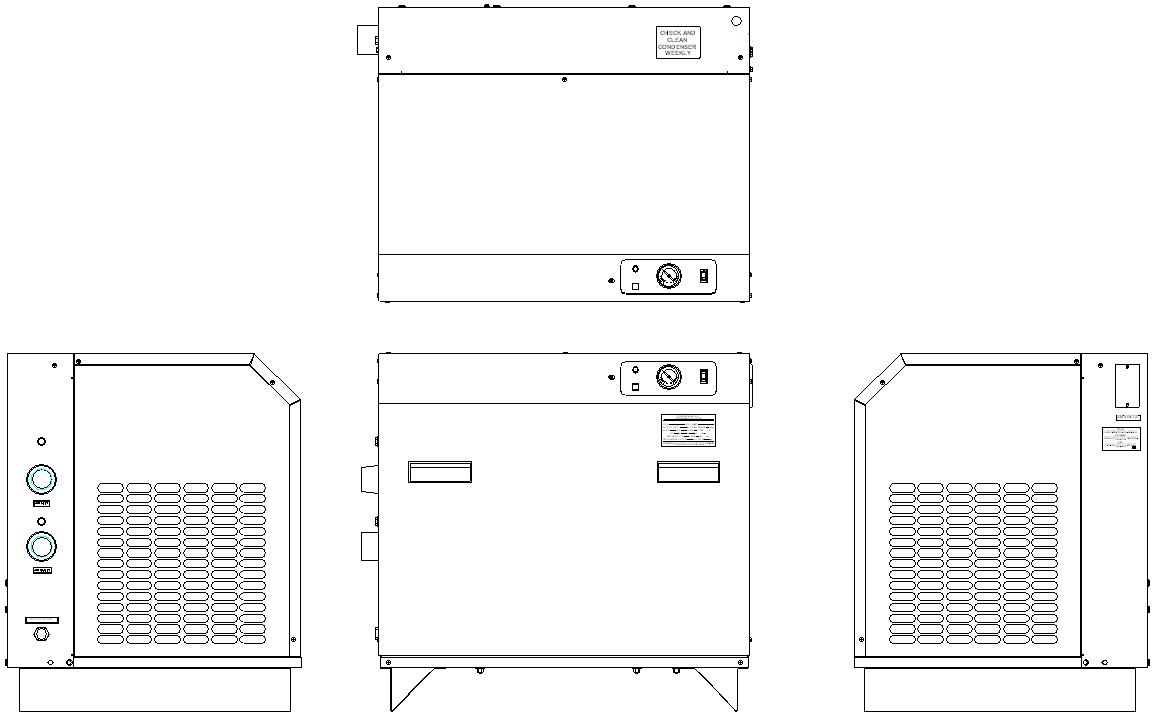 McIntire Refrigerated Industrial Dryers Drawings