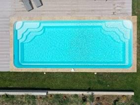 prix pose de piscine a fond incline sur