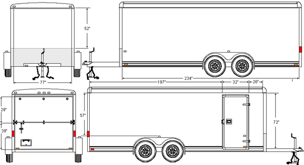 Contents List for Custom Built MCI Trailers from Disaster