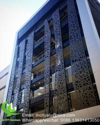 Aluminum perforated wall panel for curtain wall facade ...