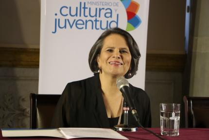 Sylvie Durán, ministra de Cultura y Juventud