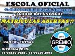 Escola Oficial de Futebol Grêmio FBPA – Jardim Botânico