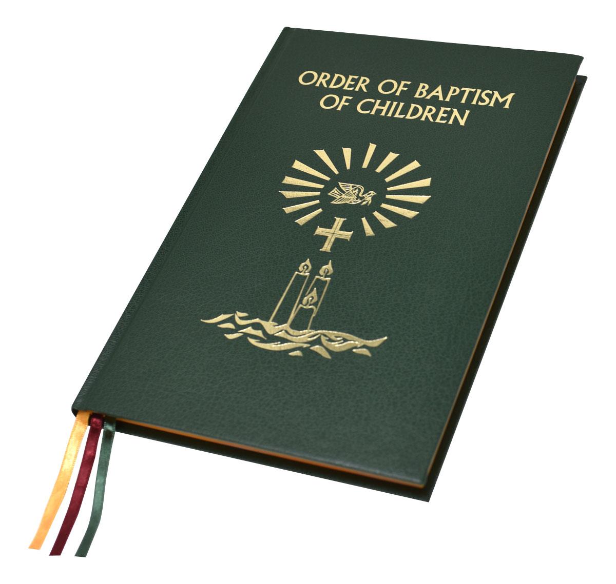 Order Of Baptism Of Children 136 22 Isbn