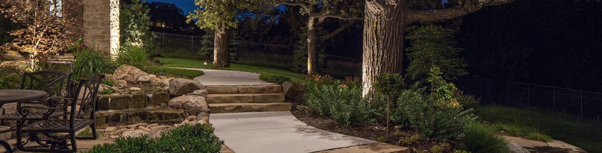 landscape lighting home design