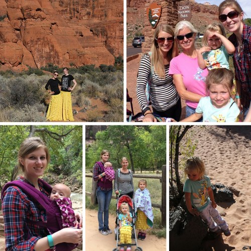 Visiting Zion's National Park and Snow Canyon