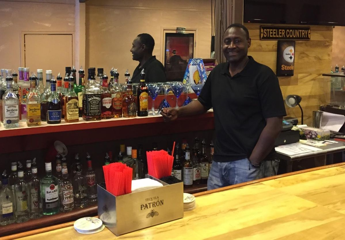 rocks landing bar and grille owner PK Brown