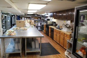 Joyce's Homemade Cookies production space
