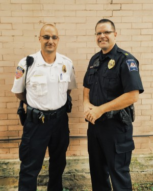 Police Chiefs Deliman and Preininger.