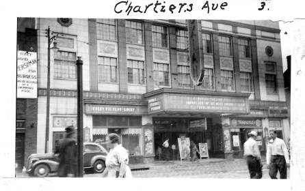 An undated photo of the Roxian Theatre courtesy McKees Rocks Historical Society.