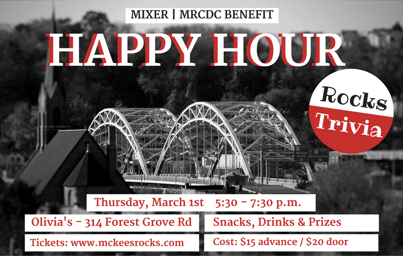 McKees Rocks Trivia Happy Hour Benefit for MRCDC.