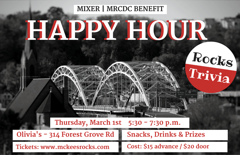 McKees Rocks Trivia Happy Hour Benefit for MRCDC.