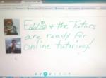 We offer online, virtual tutoring!