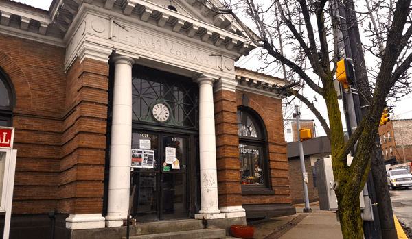 Black Forge Coffee under contract for former Chartiers Trust Bank