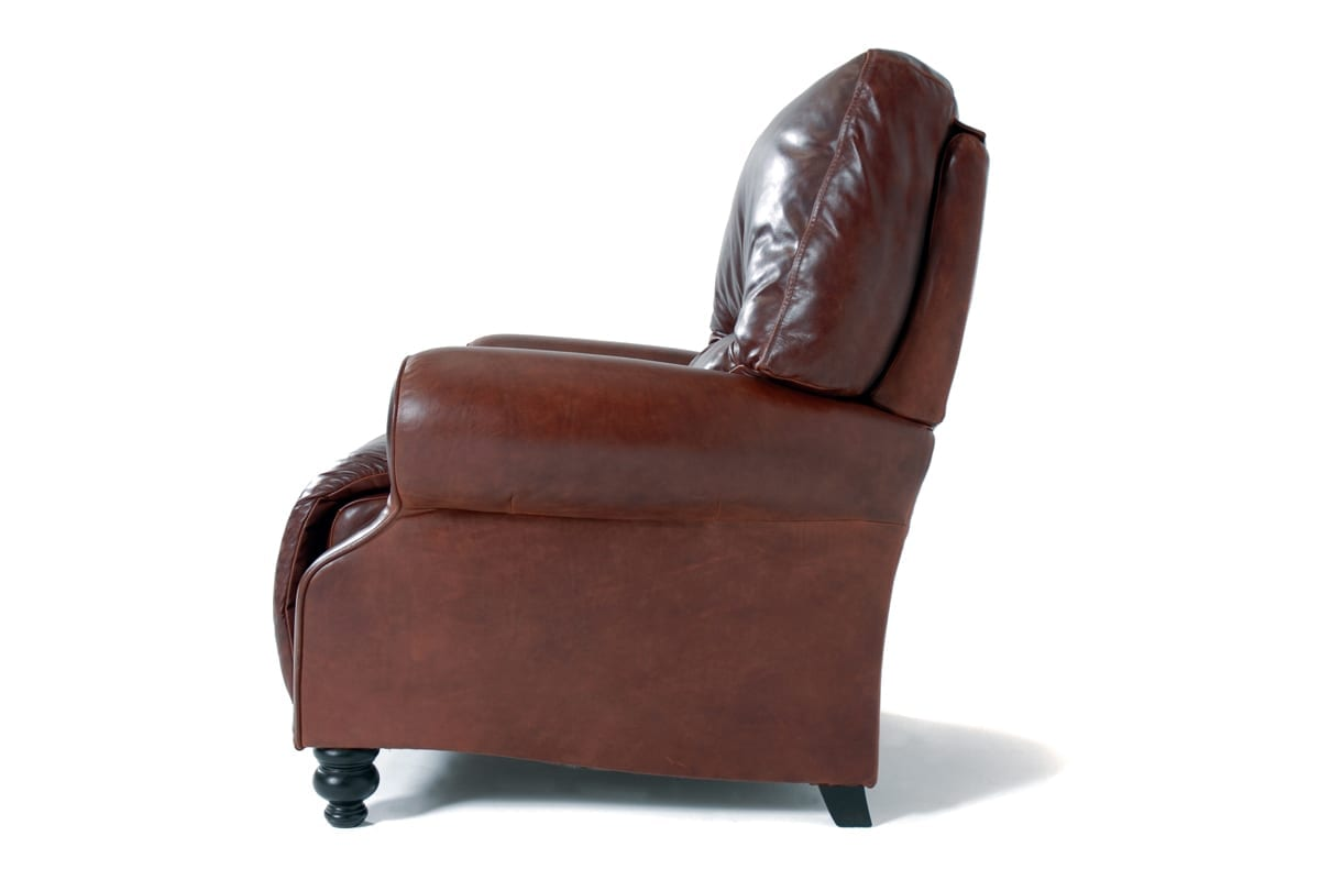kensington leather chair rocking slipcovers  kovacs recliner mckenzie and willis