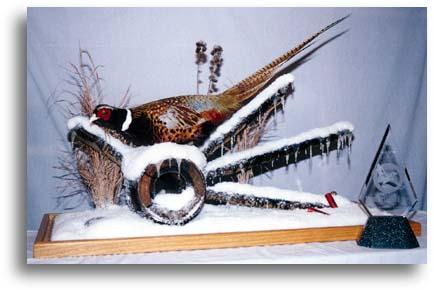 Pheasant Snow Scene Award Winner 1997