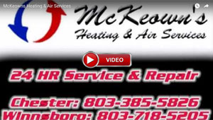 McKeowns Heating and Air we have 24 hour repair service